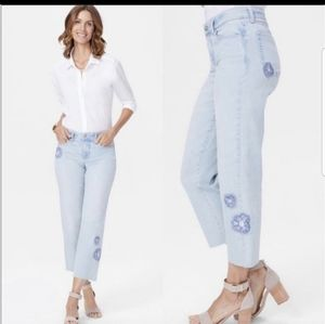 NYDJ Jenna Straight Ankle Jean